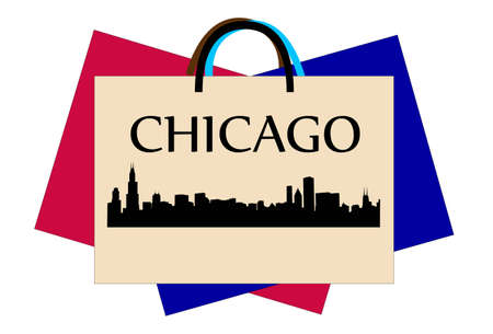 sears: Chicago shopping Illustration