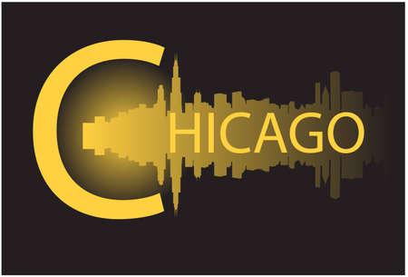 chicago v Ilustrace