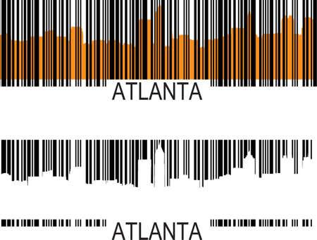 georgia: atlanta barcode