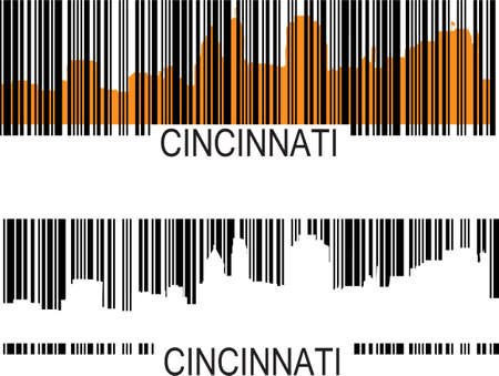 Cincinnati barcode Stockfoto - 9168659