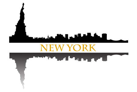 New York skyline Stock Vector - 9500439