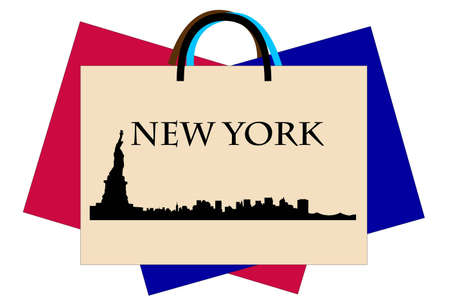 New York shop Stock Vector - 9500440