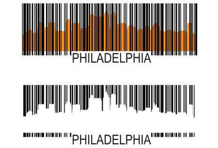 Philadelphia barcode Stockfoto - 10013227