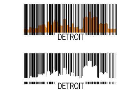 codigos de barra: Código de barras de Detroit