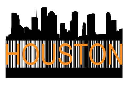 houston: Houston  barcode