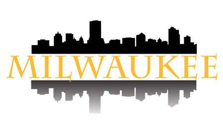 City of Milwaukee hoogbouw skyline