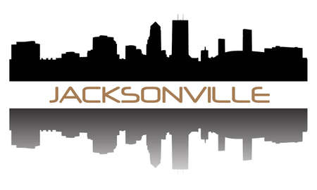 ジャクソンビル超高層建築スカイライン
