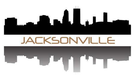 Jacksonville hoogbouw skyline