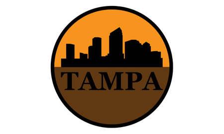 Tampa hoogbouw skyline