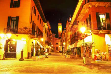 Narrow street in Town of Menaggio