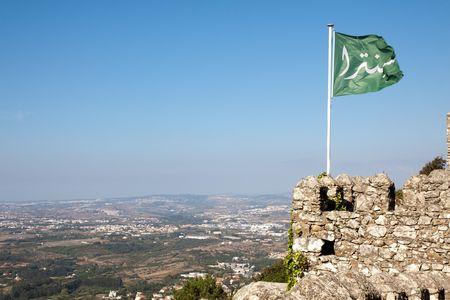 sintra: Castle in Sintra, Portugal Stock Photo