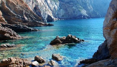 grande: coast of sardinia called canal grande Stock Photo