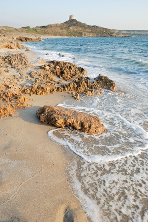 Sardinian beach called San Giovanni di Sinis Stock Photo - 12978087