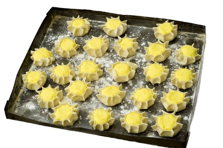 pardulas - typical sardinian dessert Stock Photo - 13235992