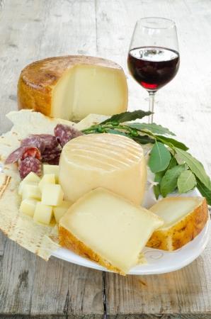 Cerdeña, productos típicos de alimentos Foto de archivo - 14254347