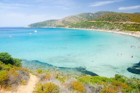 Landscape of Mari Pintau, in Sardinia