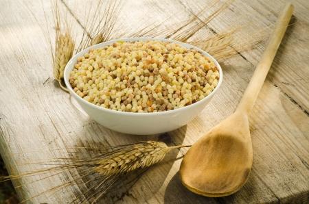semolina paste: Semola di grano duro, pasta tipica della Sardegna