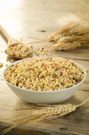 durum: Semoule de bl� dur, p�tes typiques de la Sardaigne