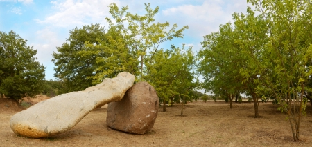 nu: Sardinia, Ortueri  Nu , Mui Muscas park Stock Photo