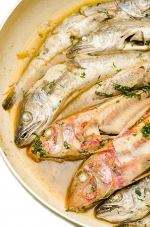 fish soup closeup Stock Photo - 15311651