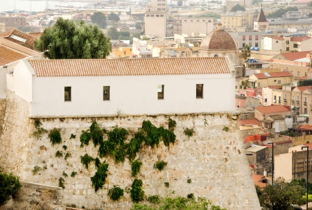 Sardinia, Cagliari, ghetto degli Ebrei Stock Photo