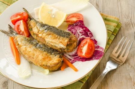 sardines: Stuffed sardines