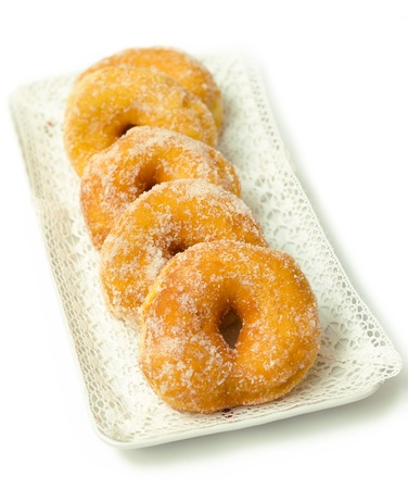 Zeppole, fried sardinian dessert Stock Photo - 17860060