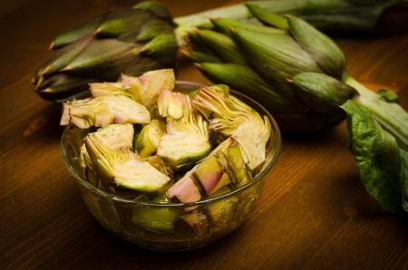artichoke: Artichoke salad