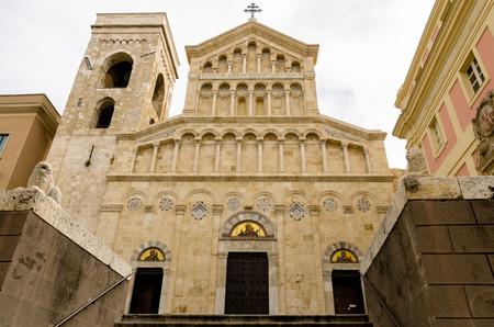 Sardinia, Cagliari, Santa Maria Cathedral  版權商用圖片