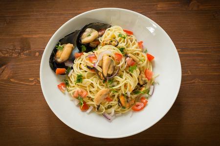 İtalyan mutfağı: Midye spagetti, İtalyan mutfağı