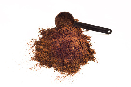 finer: Coffee powder Stock Photo