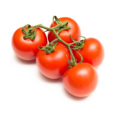 agri: bunch of fresh tomatoes Stock Photo