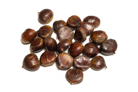 l agriculture: Fresh chestnuts