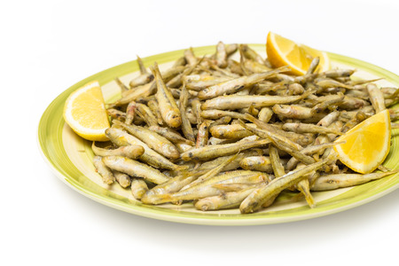 whitebait: Fried whitebait, Italian Food