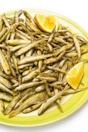 whitebait: Fried whitebait, Italian Food