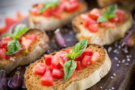 Italian bruschetta, finger food