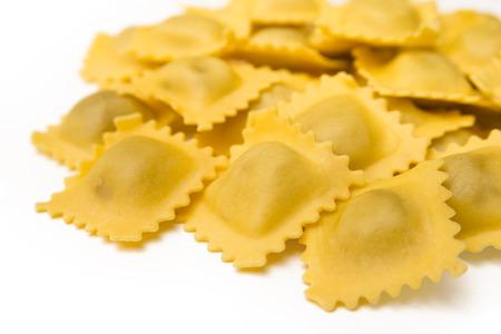 comida italiana: Raviolis frescos, comida italiana