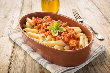 ragout: Pasta with ragout sauce
