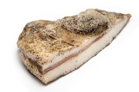 lard: Spiced italian lard