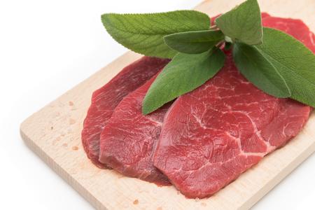 tenderloin: Fresh beef tenderloin Stock Photo