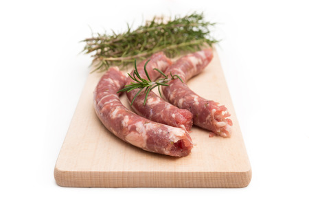 pork sausage: Fresh pork sausage