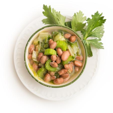 vegan soup Stock Photo