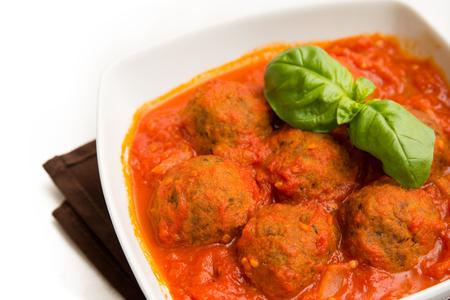 salsa de tomate: alb�ndigas de carne con salsa de tomate