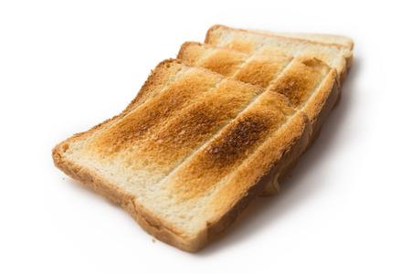 toasted: Toasted bread Stock Photo
