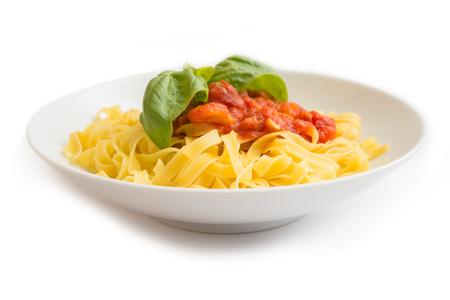 ragout: Tagliatelle with ragout sauce, Italian Pasta