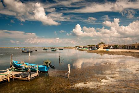 Marceddi fishing village, Oristano, Sardinia