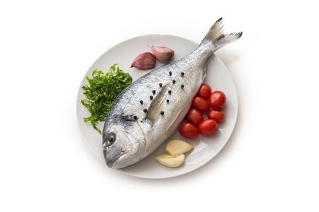 sea bream: Fresh sea bream