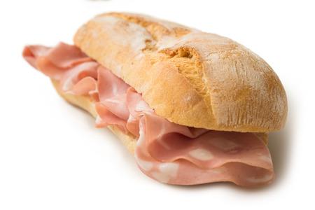 Mortadella Sandwich Stock Photo - 77371057