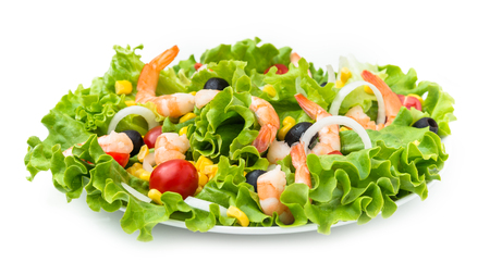 escarola: Shrimp Salad