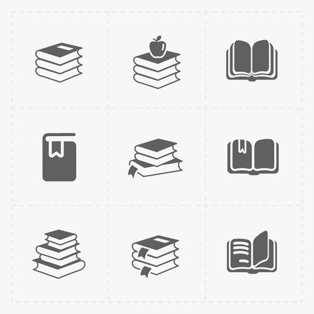 electronic publishing: Modern Web Books set on White.